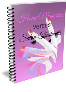 Home Manicures versus Salon Treatments Spiral cover